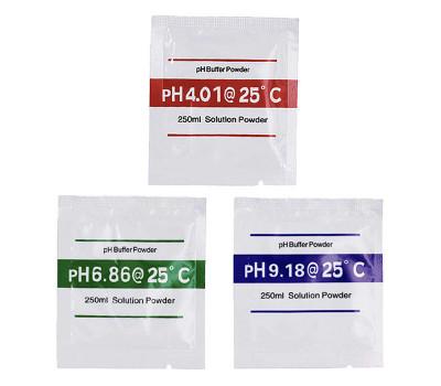 Буферные порошки (3 шт.) для калибровки PH метра (4.01 / 6,86 / 9,18)