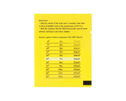 Калибровочный порошок для ОВП метра (256mv)