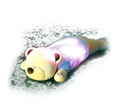 Bluetooth подушка плюшевый медведь с подсветкой (70 см.)