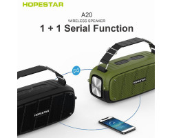 Колонка Hopestar A20 (55W, Bluetooth, TWS, MP3, AUX, Mic)