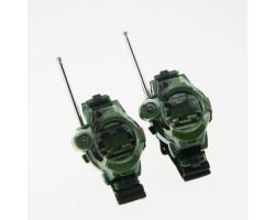 Игрушечные двухканальные часы рации WALKIE TALKIES