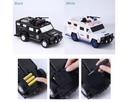 Копилка-сейф электронная машина полицейский Hummer