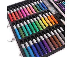 Подарочный набор юного художника в кейсе, 150 шт.