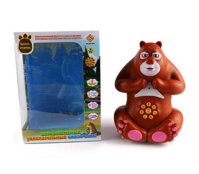 Говорящая игрушка интерактивный сказочник «Братец медведь»