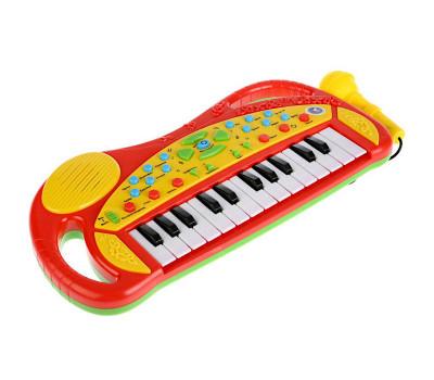 Пианино Умка с микрофоном и функцией записи (20 песен и потешек)