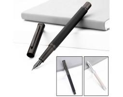 Перьевая ручка HongDian 1850 металлическая в футляре