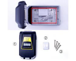 Настенный сейф для ключей с кодовым замком и подсветкой