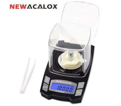 Ультраточные весы Newacalox (100 гр. x 0,001 гр.) (работа от сети или АКБ)