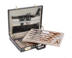 Набор ножей в кейсе MeizenHaus MH-2555 (25 предметов)