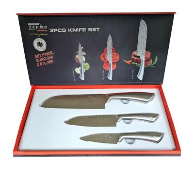 Набор кухонных ножей z.e.p line ZP-6601 (3 ножа)