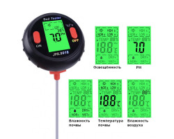Измеритель pH почвы 5 в 1 (анализатор кислотности)