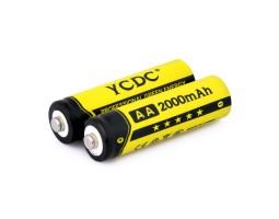 Перезаряжаемые AA батареи Ni-MH 2000 мАч (4 шт.)