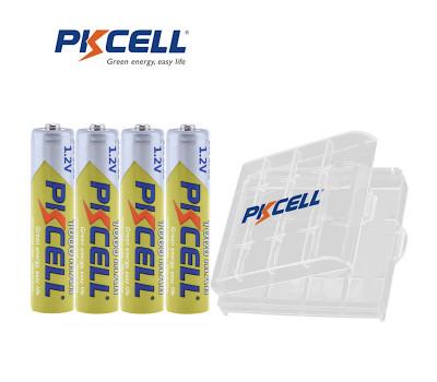 Перезаряжаемые аккумуляторы PKCELL AAA Ni-MH 1000 mAh (4 шт.)