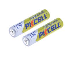Перезаряжаемые AAA батареи Ni-MH 1000 мАч (4 шт.)