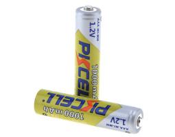 Перезаряжаемые AAA батареи PKCELL Ni-MH 1000 мАч (4 шт.)