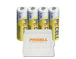 Перезаряжаемые AA батарейки PKCELL Ni-MH 2600 мАч (4 шт.)