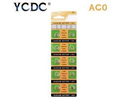 Батарейка AG0, 379A, SR521SW, SR63, LR521, LR69, CX63, C30SW