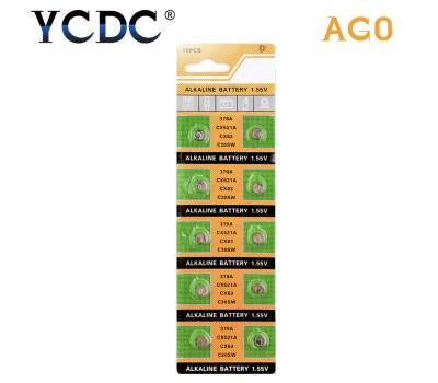 Батарейки AG0, 379A, SR521SW, SR63, LR521, LR69, CX63, C30SW