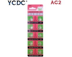 Батарейка-таблетка YCDC AG2