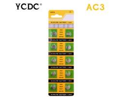 Батарейка AG3 LR41 192 SR41 V3GA L736 392A