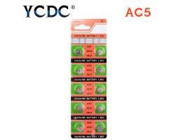 Батарейка AG5 (D309, D393, G5, G5A, L754, LR48...)