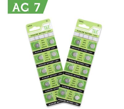 Батарейка AG7 / 395A / LR927 / LR57 / CX57 / SR57 (1 шт.)