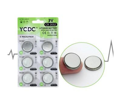 Литиевая батарейка (таблетка) CR2032 (3V) YCDC