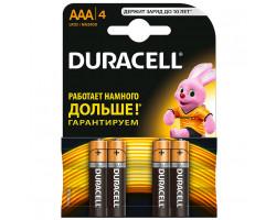 Батарейка DURACELL AAA (LR03) (уп. 4 шт.)