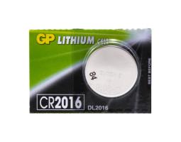 Батарейка GP CR2016 3V (1 шт.)