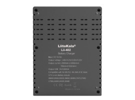 LiitoKala Lii-402 - умное зарядное устройство на 4 АКБ