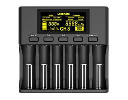 Умное зарядное устройство LiitoKala Lii-S6 на 6 аккумуляторов