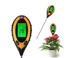 PH метр 4-в-1 для почвы (PH / влажность / температура / свет)