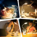 Настольная лампа LAOPAO T21 с подставкой для ручек и часами