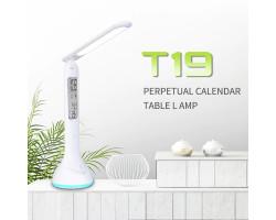 Настольная лампа LAOPAO T19A с температурой и часами