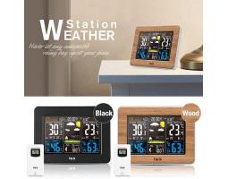 Метеостанция с выносным датчиком и цветным дисплеем