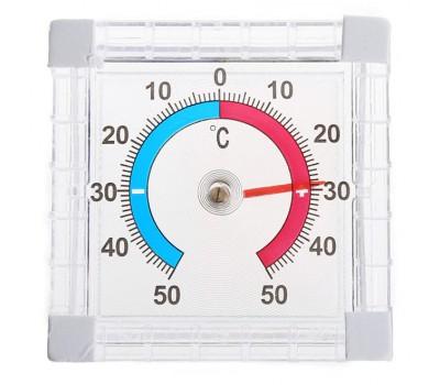 Оконный уличный термометр в прозрачном корпусе