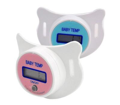 Детская пустышка, измеряющая температуру