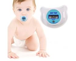 2-в-1: Детская пустышка + электронный градусник