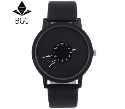 Модные унисекс кварцевые часы BGG с уникальным дизайном