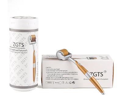 Мезороллер ZGTS с позолоченными титановыми иглами 0,5 мм.