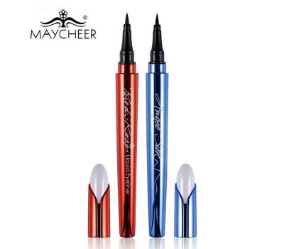 Жидкая водостойкая подводка для глаз MAYCHEER Angel Silk (чёрная)