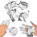Фольга для обертывания ногтей (100 шт.)