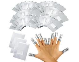 Фольга для обертывания ногтей (50 шт.)