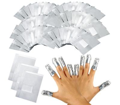 Алюминиевая фольга для обертывания ногтей (50 шт.)