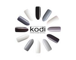 Гель-лаки Kodi палитра BLACK&WHITE (BW) 8 мл.