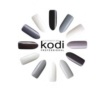 Гель-лаки Kodi коллекция BLACK&WHITE (BW) 8 мл.