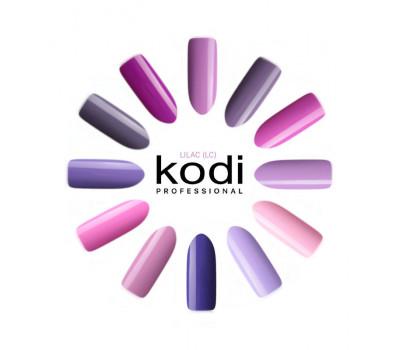 Гелевые лаки Kodi лилово-сиреневая серия LILAC (LC) 8 мл.