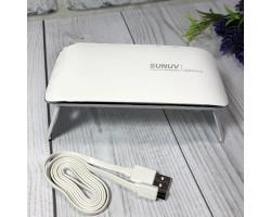 Дорожная шеллак лампа SUNUV SUN mini 3 (работа от ААА или USB)