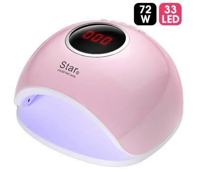 Новейшая мощная лампа-сушка Star5 (72 Вт / 33 LED)