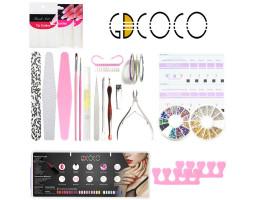 Набор GDCOCO для маникюра и дизайна ногтей